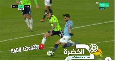 شاهد الحارس يحرم رياض محرز من هدف رائع + كل ما فعله ضد كارديف سيتي 29