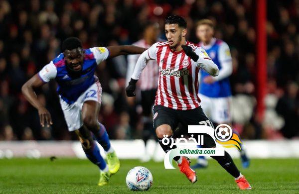 مهارات و أهداف سعيد بن رحمة الجوهرة الجزائرية في إنجلترا 2020 31