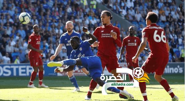 ليفربول يستعيد صدارة الدوري الإنجليزي بفوز صعب على كارديف سيتي 24