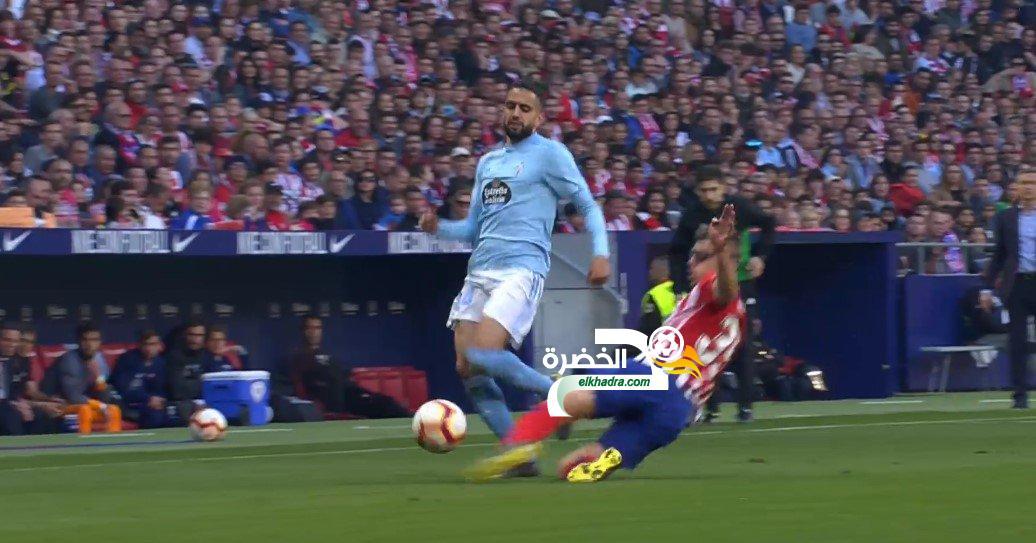 بودبوز أساسي مع سيلتا فيغو ويسقط امام أتليتيكو مدريد بثنائية 24