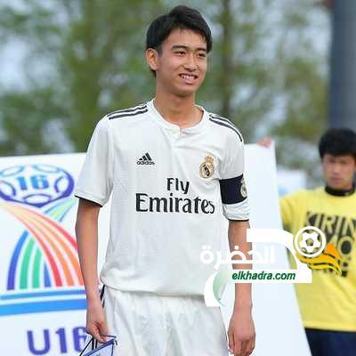 الياباني ناكاي يخطف الأضواء في ريال مدريد 17