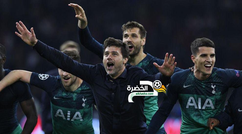 مورا يقود توتنهام لنهائي دوري الأبطال في مباراة تاريخية 24