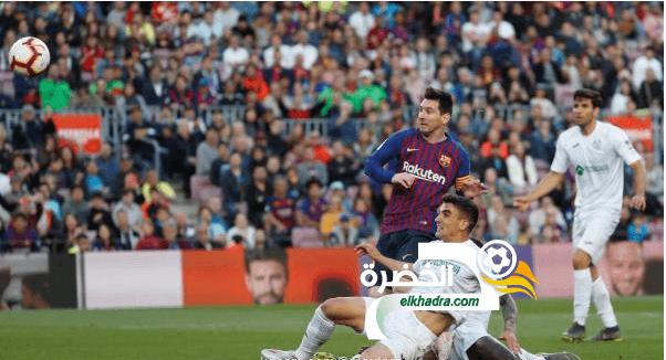 برشلونة يفوز على ضيفه خيتافي بثنائية دون رد 24