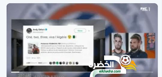"""بالفيديو .. اندي ديلور :"""" احب الجزائر وأريد أرتداء قميص بلدي """" 29"""