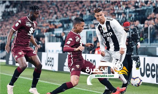 التعادل الإيجابي يحسم نتيجة ديربي يوفنتوس وتورينو بالدوري الإيطالي 24