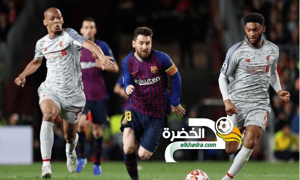 ميسي يقود برشلونة للفوز بثلاثية على ليفربول ويضعه على أعتاب النهائي 24