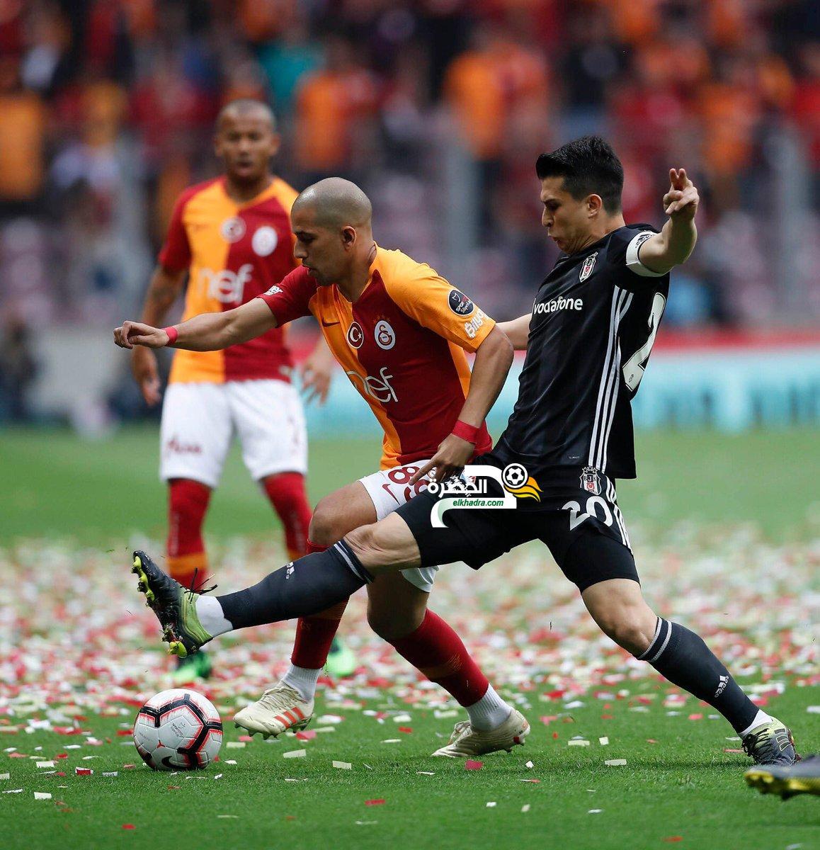 فغولي يقترب من الفوز بالدوري التركي بفوز جالطة سراي على بشكتاش 24