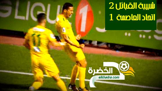 ملخص وأهداف مباراة شبيبة القبائل ضد اتحاد العاصمة JSK 2 VS 1 USMA 24