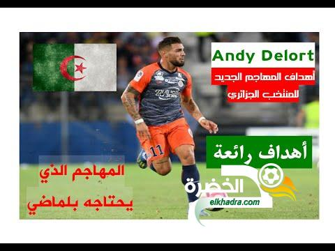 أهداف المهاجم الجديد للمنتخب الجزائري أندي ديلور les buts d'Andy Delort 24