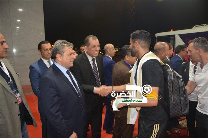 بالصور .. وصول المنتخب الوطني إلى مصر للمشاركة في كان 2019 17