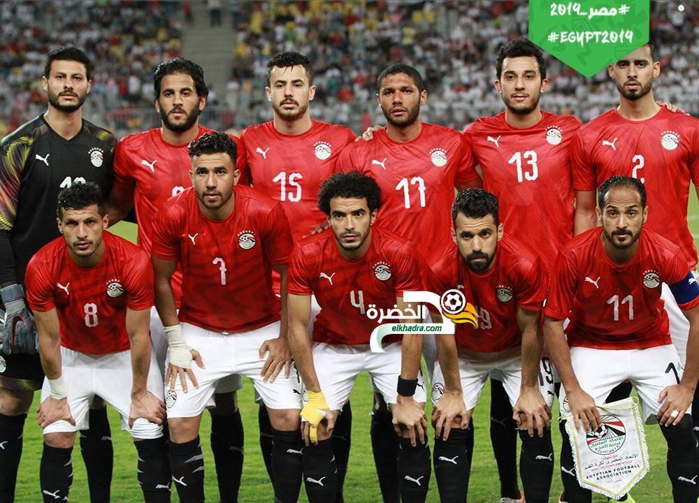 منتخب مصر يحقق فوزاً مثيراً على غينيا بثلاثية 37