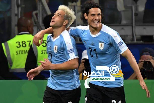 منتخب أوروجواي يحقق فوزا عريضا على الإكوادور في كوبا أمريكا 1