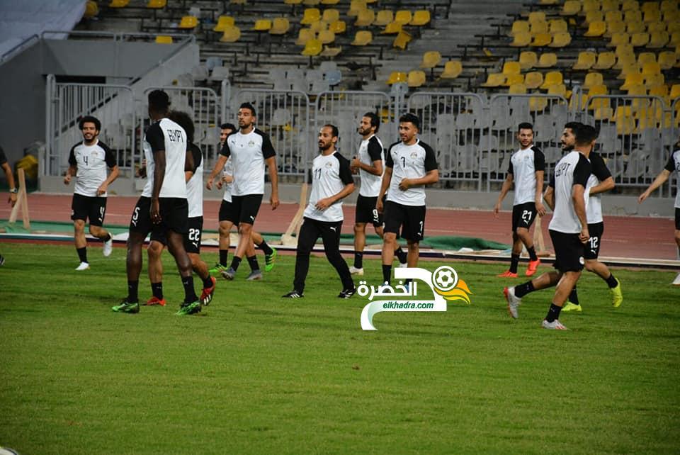 منتخب مصر يبدأ معسكره استعدادا لأمم إفريقيا 25