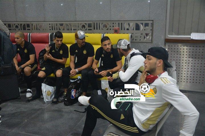 بالصور .. وصول المنتخب الوطني إلى مصر للمشاركة في كان 2019 18