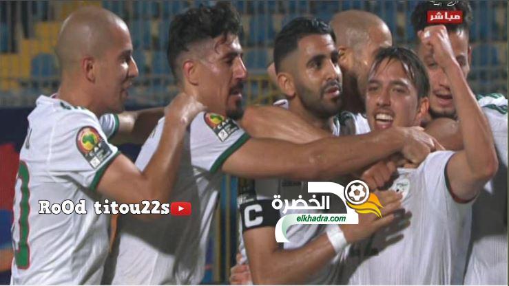 أهداف مباراة الجزائر 2-0 كينيا 25
