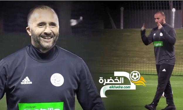 """بلماضي :"""" منتخب الجزائر ليس برشلونة"""" 24"""