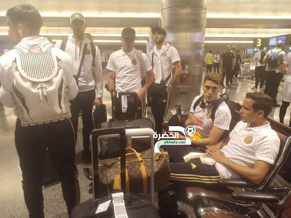 بعثة المنتخب الجزائري تطير مساء هذا الثلاثاء إلى العاصمةالمصرية 24