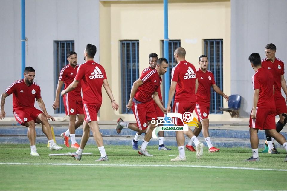 بالصور .. الخضر يجرون أول حصة تدريبية بمصر 28