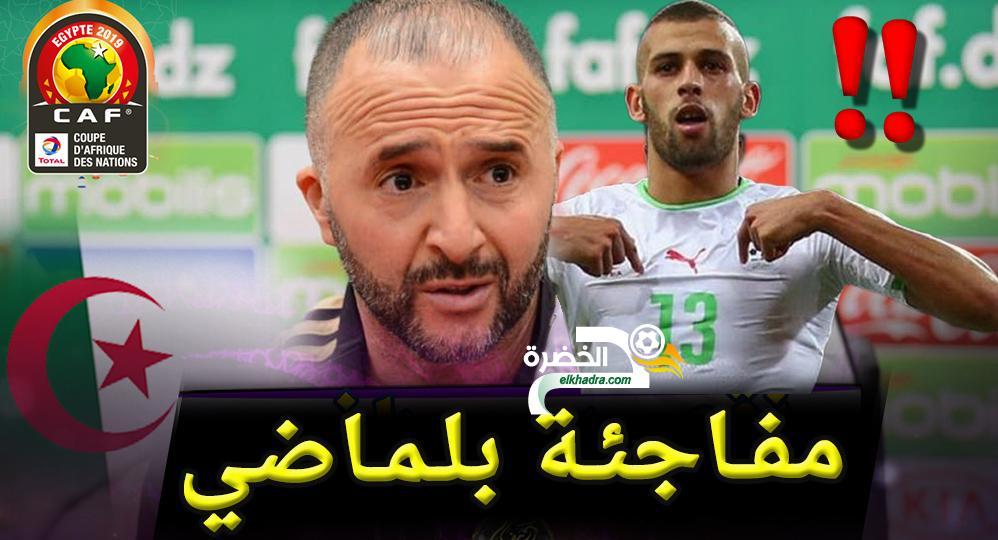 هكذا ردّ جمال بلماضي بخصوص تواجد اسلام سليماني و عدلان قديورة في قائمة كأس افريقيا 24