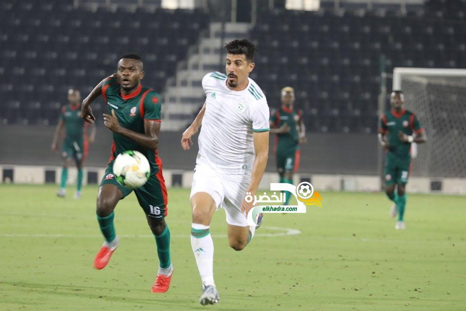 صور مباراة الجزائر وبورندي 31