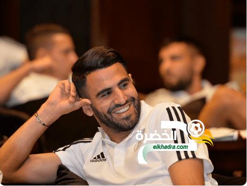 """رياض محرز : """"سألعب مع أصدقائي في الحي ضد فريق بلماضي وسأفوز عليه بسهولة"""" 1"""