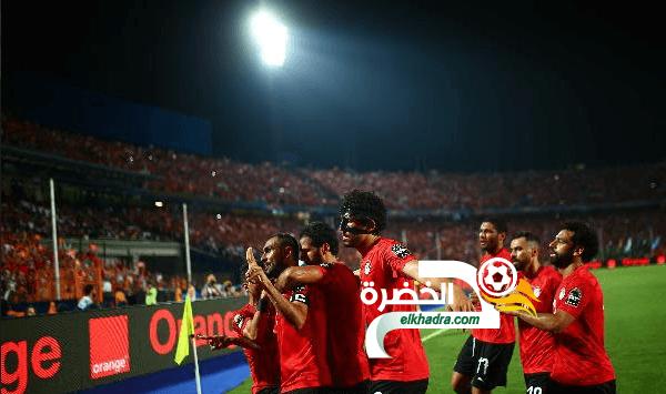 منتخب مصر يتأهل لدور الستة عشر ببطولة كأس الأمم الأفريقية 29