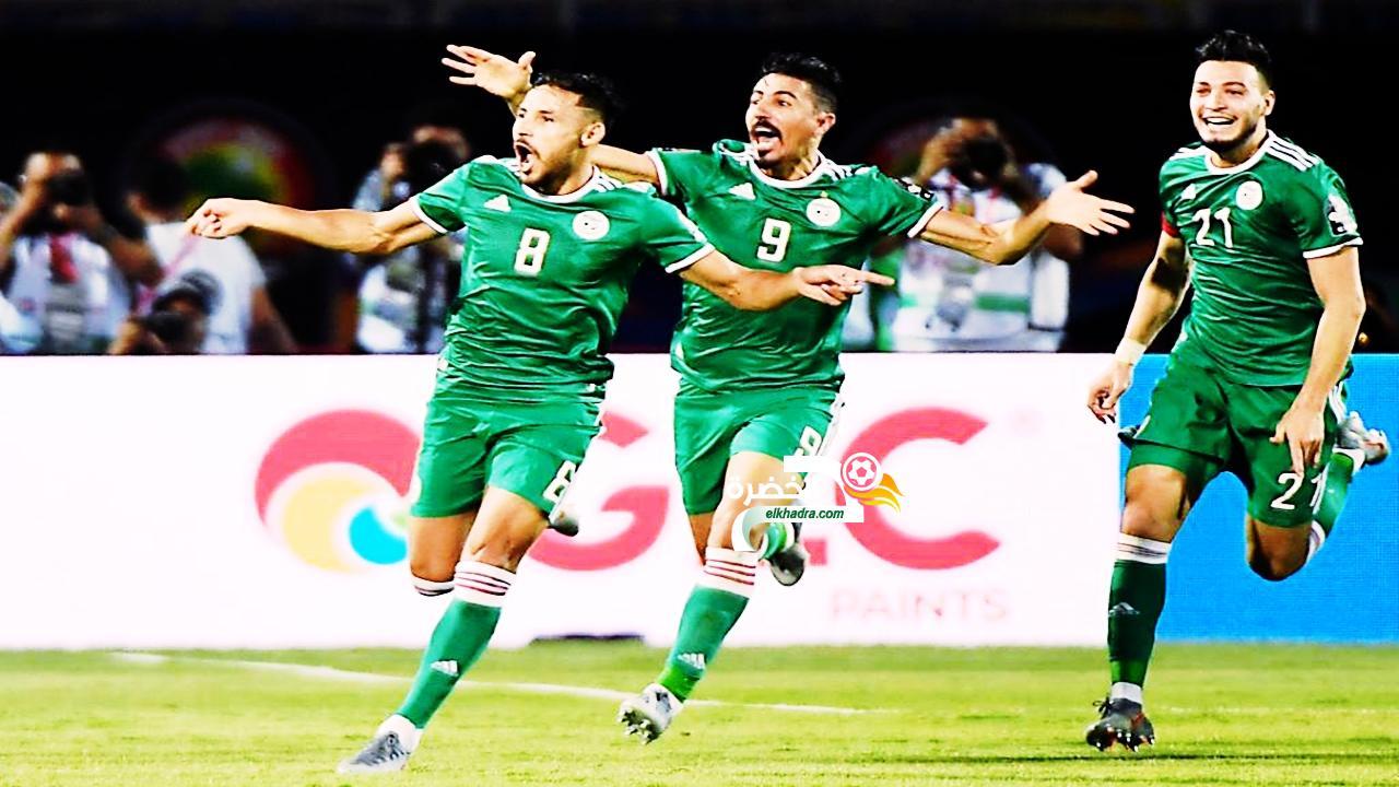 ملخص مباراة الجزائر والسنغال - 1 - 0 جنون حفيظ دراجي وهدف عالمي 24