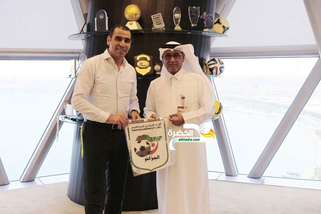 الفاف تمضي عقد شراكة وتعاون مع الاتحادية القطرية 17