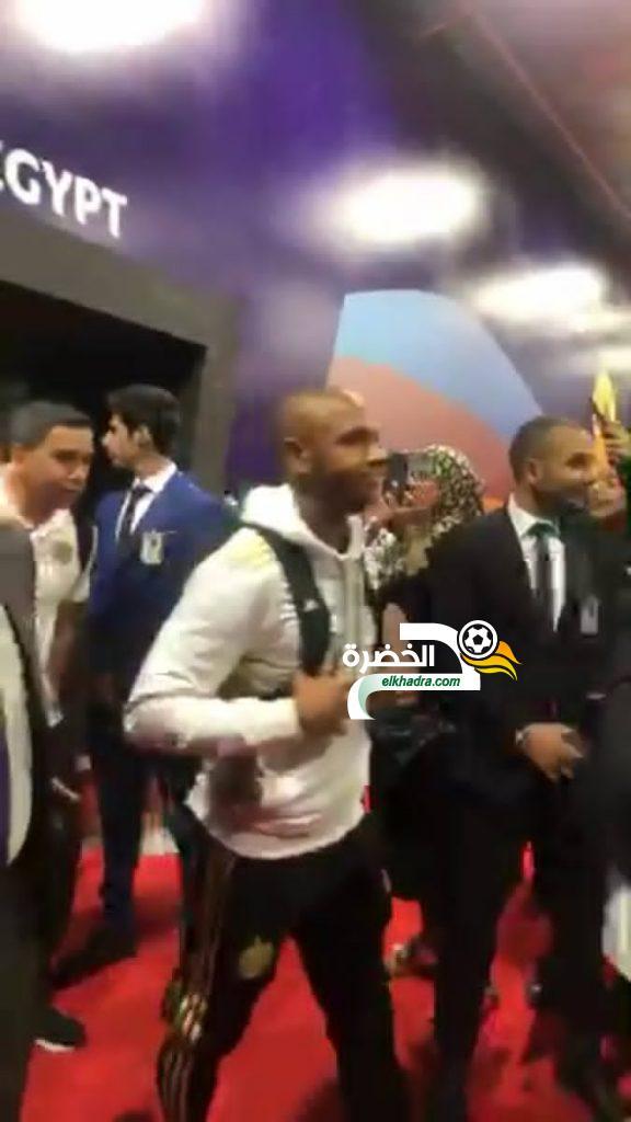 بالصور .. وصول المنتخب الوطني إلى مصر للمشاركة في كان 2019 20
