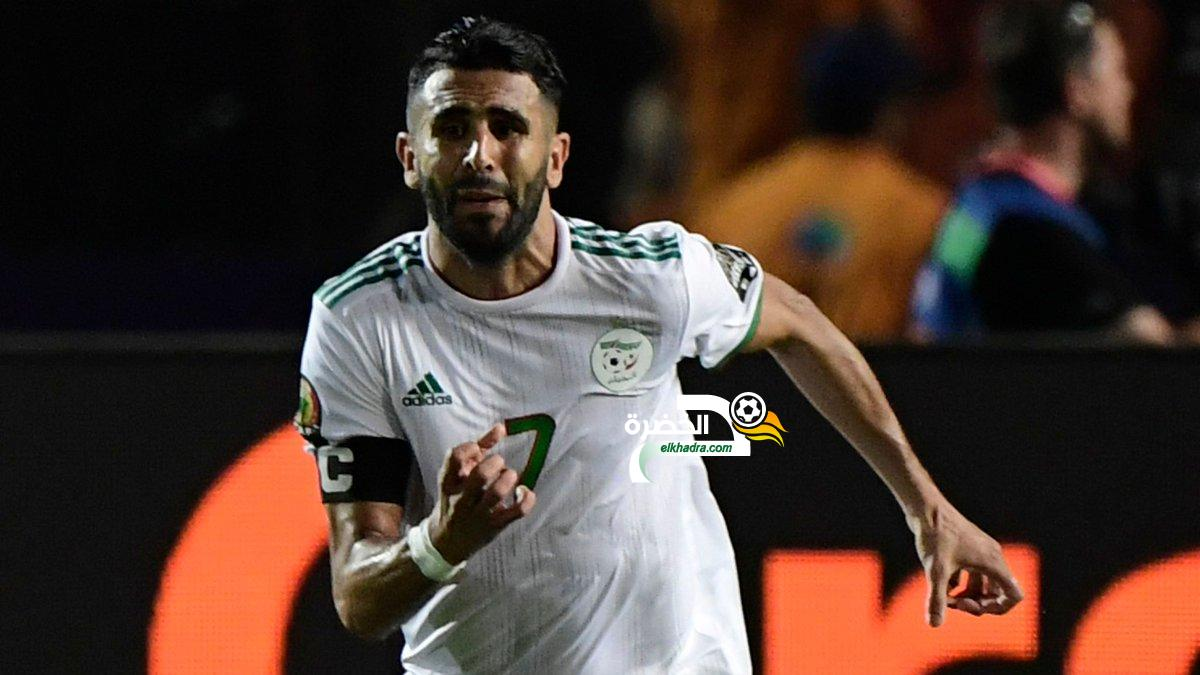 """جمال بلماضي: """"آمل أن يتوج رياض محرز بلقب افضل لاعب في إفريقيا"""" 19"""