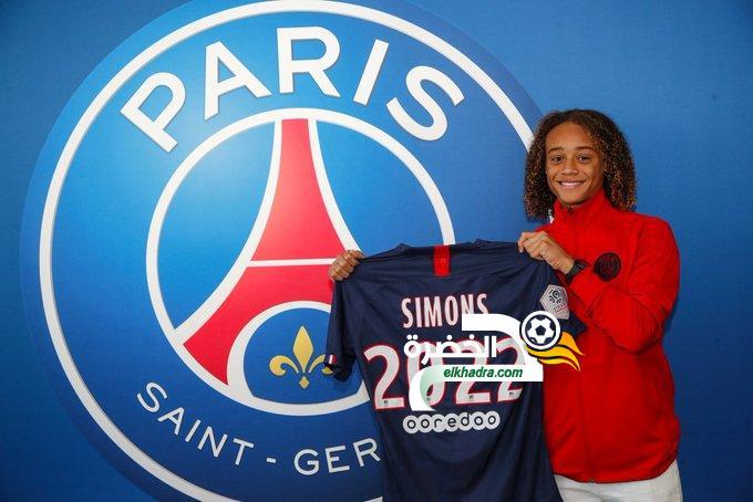 رسميًا : الموهبة الهولندية سيمونز لاعبًا لـ باريس سان جيرمان 24