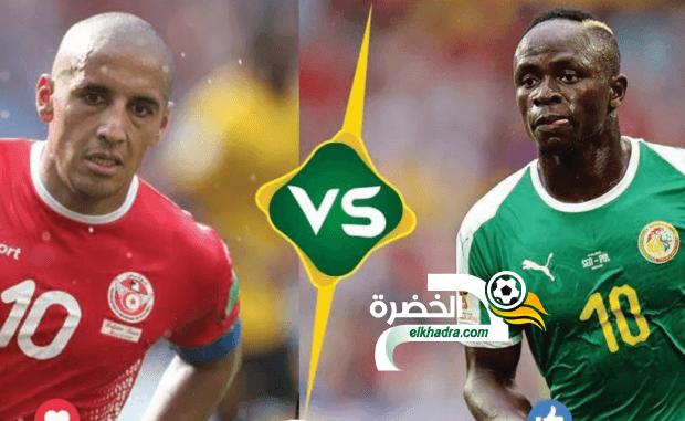 القنوات الناقلة لمباراة تونس والسنغال اليوم 14-07-2019 Tunisie vs Sénégal 24