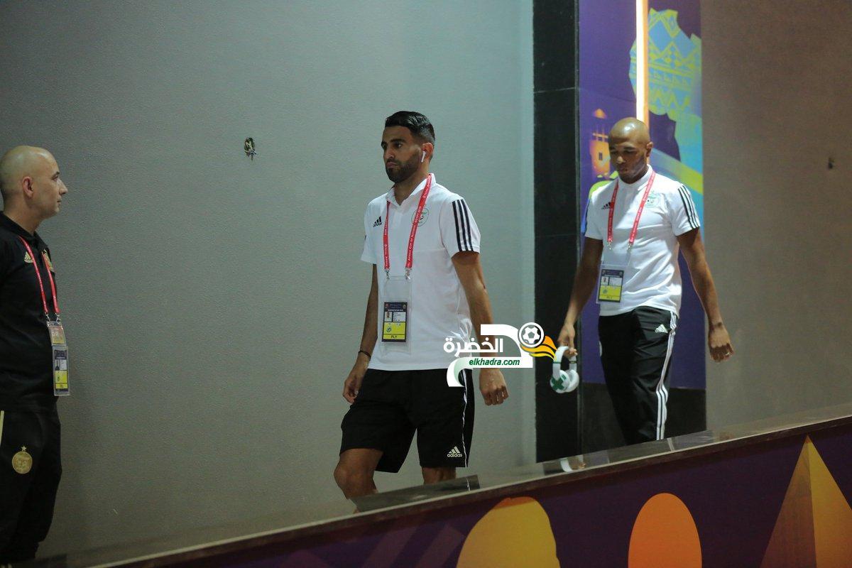 محرز يقود تشكيلة المنتخب الوطني لمواجهة السنغال في نهائي الكان 24