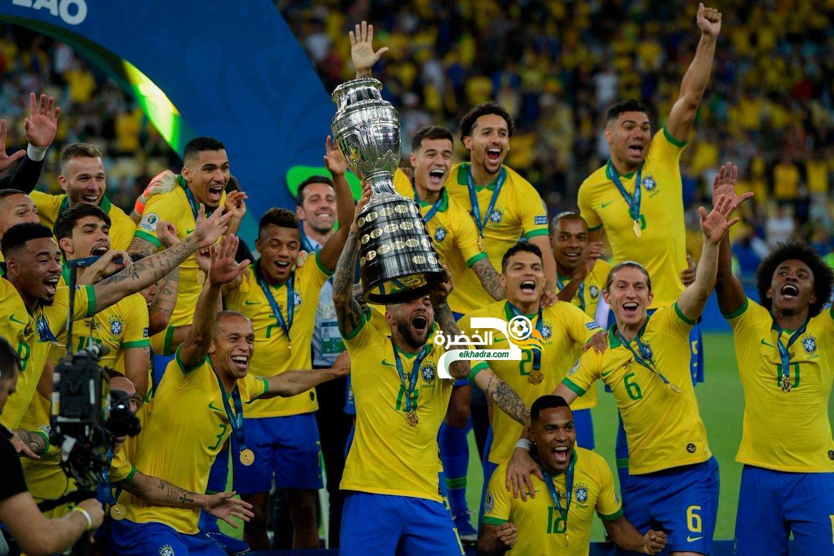منتخب البرازيل يتوج بلقب كوبا أمريكا 2019 31