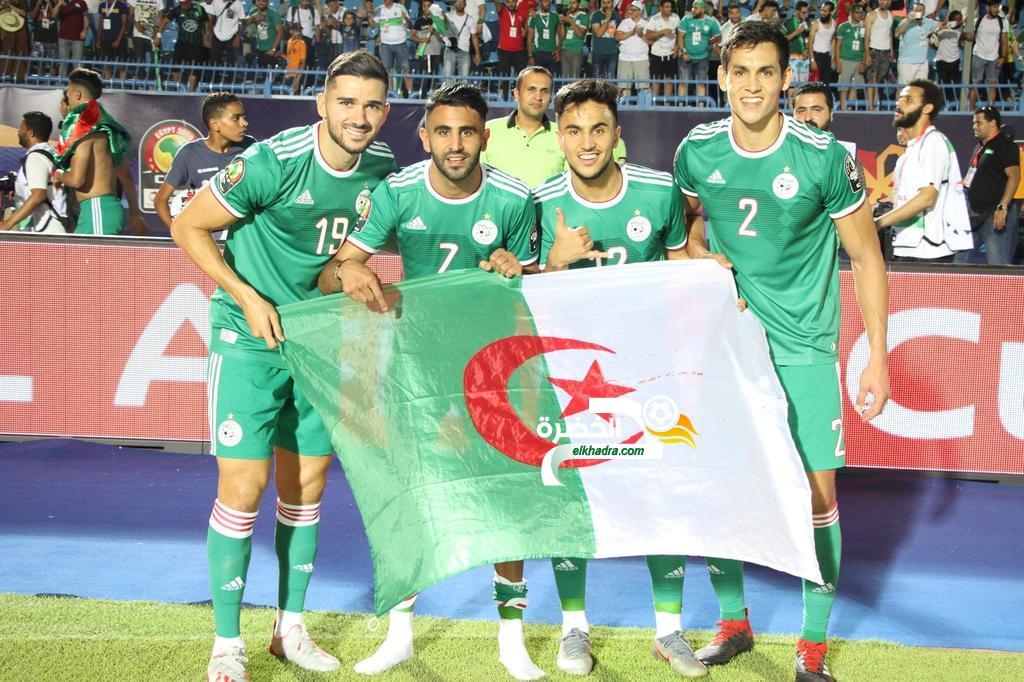 التشكيلة المتوقعة للمنتخب الجزائري امام السنغال في نهائي كان 2019 24