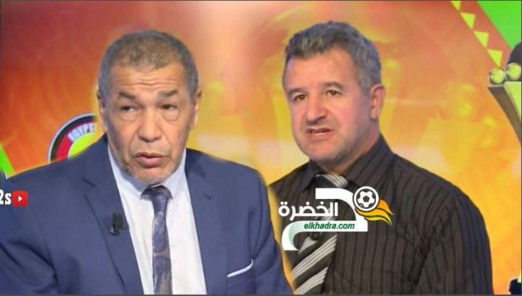 موسى صايب يختلف مع علي بن شيخ بخصوص إختيار رياض محرز رجل لقاء 25