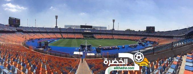 السنغال والجزائر .. صور ملعب القاهرة 27