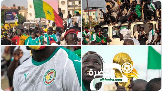 استقبال تاريخي للمنتخب السنغالي في داكار 24