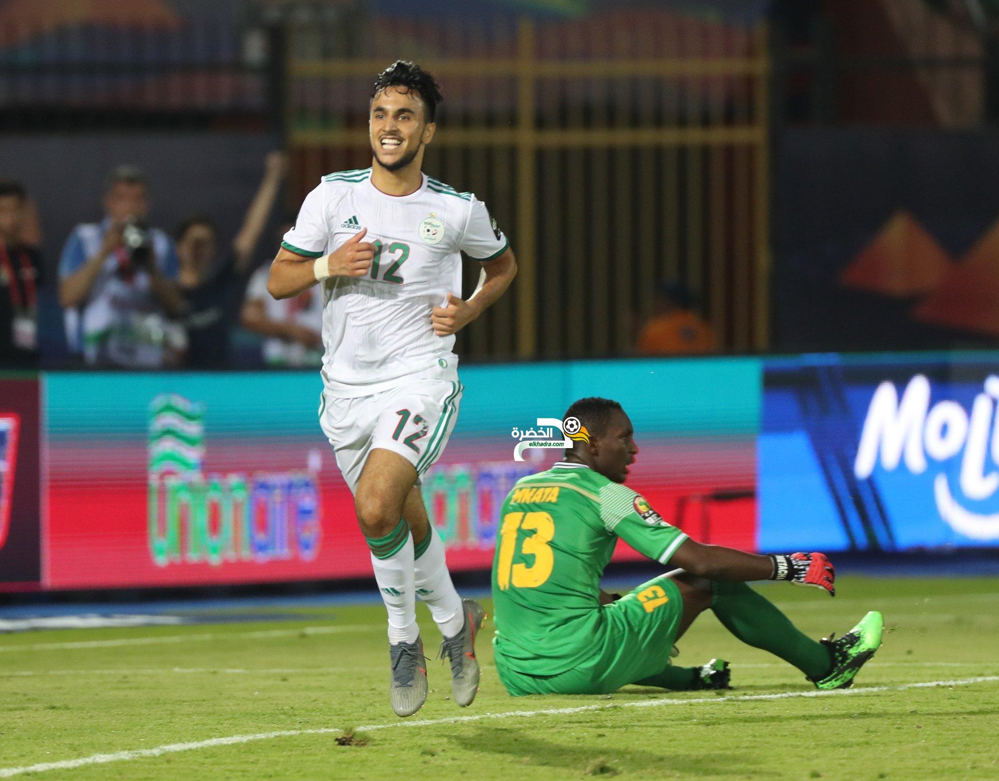 اهداف مباراة الجزائر وتنزانيا - 3 - 0 اهداف عالمية 24