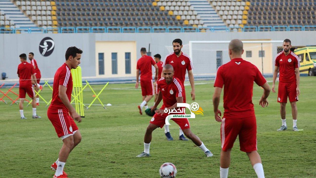 ياسين براهيمي يعود الى تدريبات المنتخب الوطني بعد غياب طويل بسبب الاصابة 26