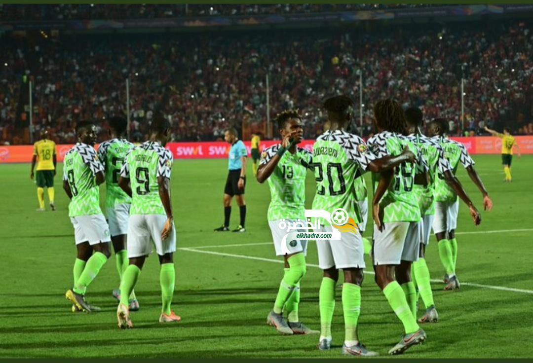 نسور نيجيريا إلى نصف النهائي بالفوز على جنوب إفريقيا بهدفين لهدف 24