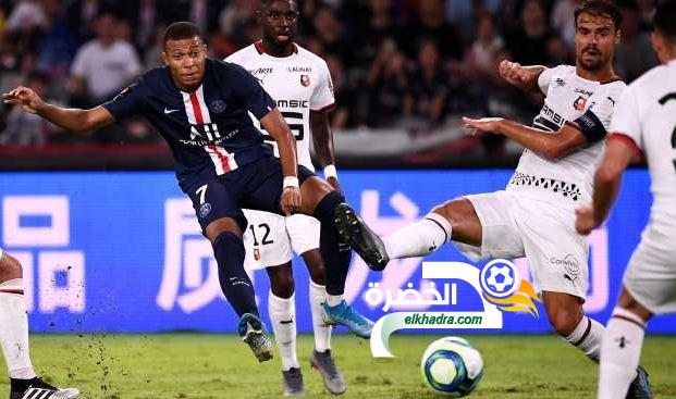 باريس سان جيرمان يتوج بكأس السوبر الفرنسي للمرة السابعة على التوالي 24