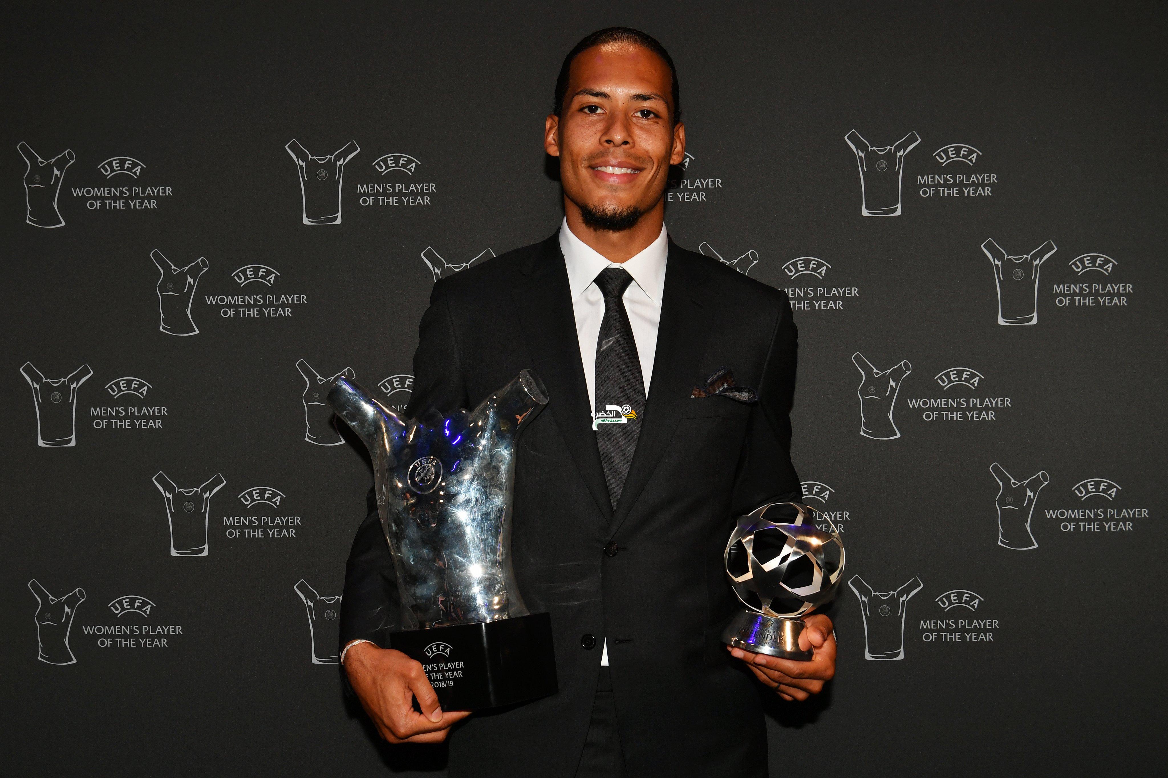 الهولندي فيرجيل فان دايك يتوج بجائزة أفضل لاعب في أوروبا 24