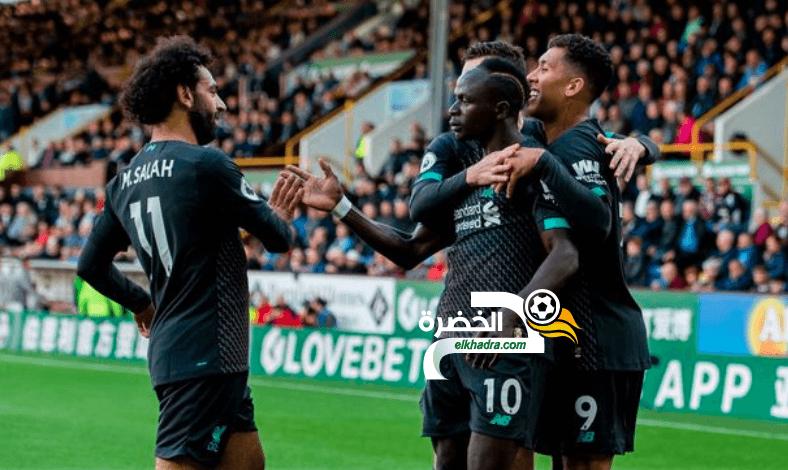 ليفربول يتصدر الدوري الإنجليزي بفوز على بيرنلي بثلاثية نظيفة 1