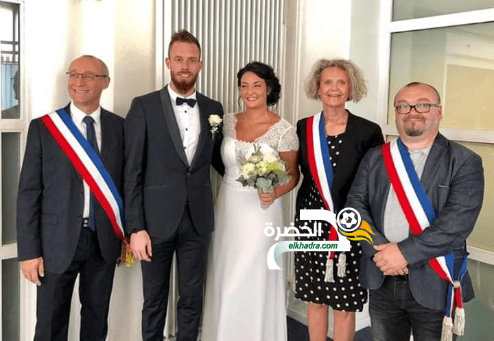 بالصور .. ألكسندر أوكيدجا وزوجته في حفل الزفاف 26