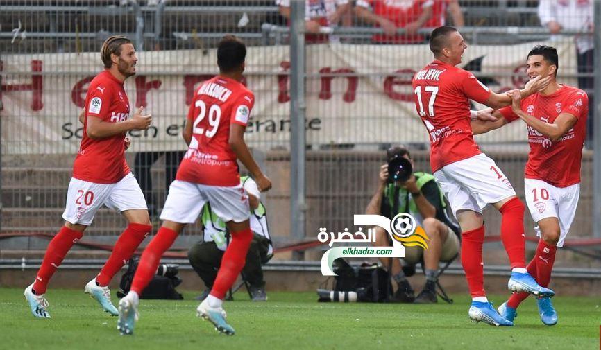 هدف فرحات اليوم ضد مرسيليا Zinedine Ferhat face à Marseille 24