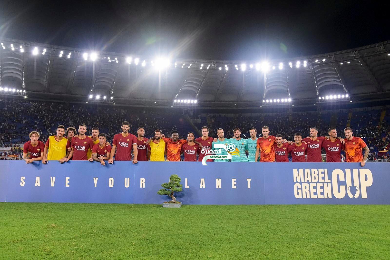 تتويج روما بكأس مابيل غرين بعد الفوز على ريال مدريد بركلات الترجيح 17