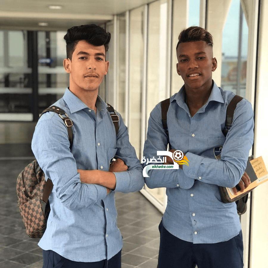 بوداوي ولوصيف ينهيان تفاصيل انتقالهما لنادي من الدوري البلجيكي 24