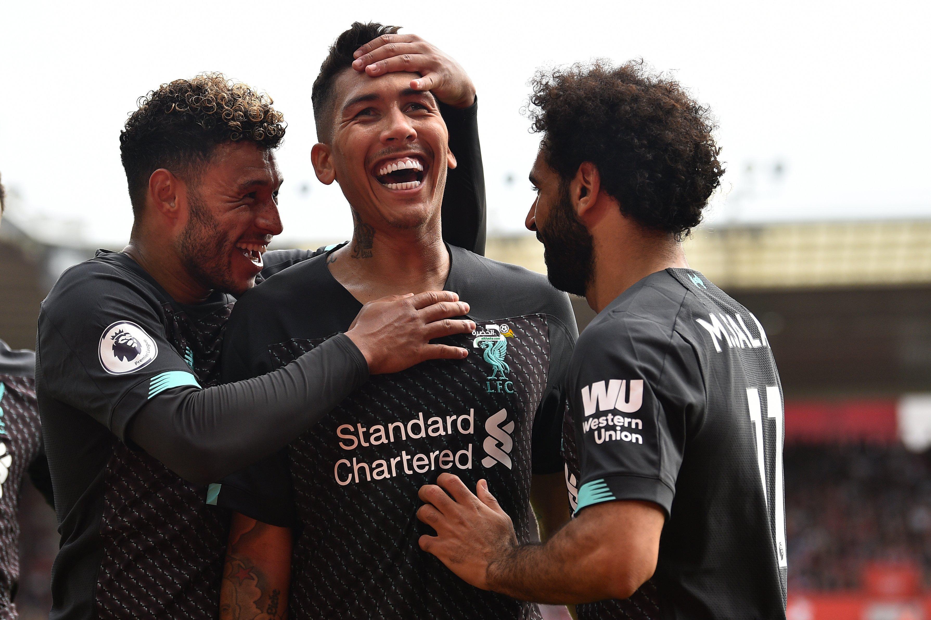 ليفربول يتغلب على مضيفه ساوثهامبتون في الدوري الإنكليزي 24
