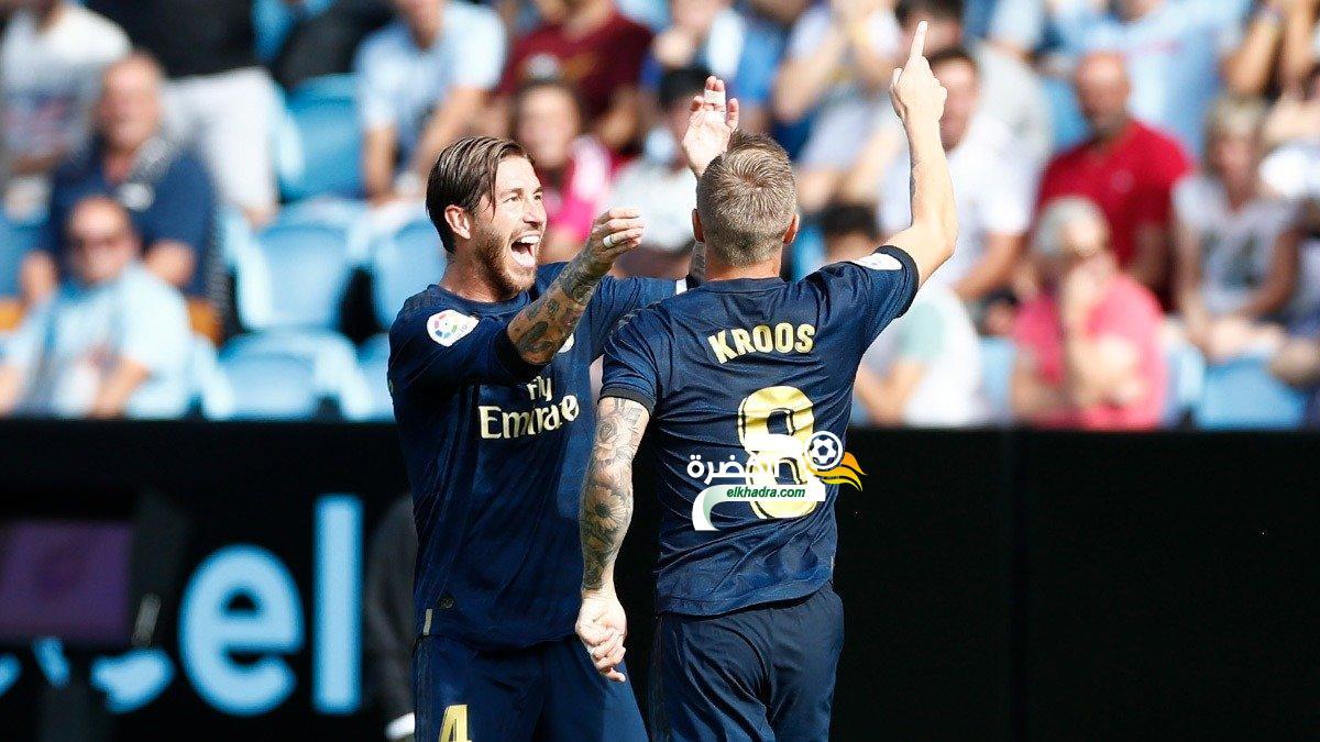 ريال مدريد يفتتح مبارياته في الليغا بالفوز على سيلتا فيغو 24